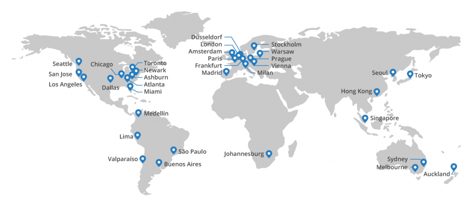 cloudflare | network | partners | optimized | topology | security | DDoS