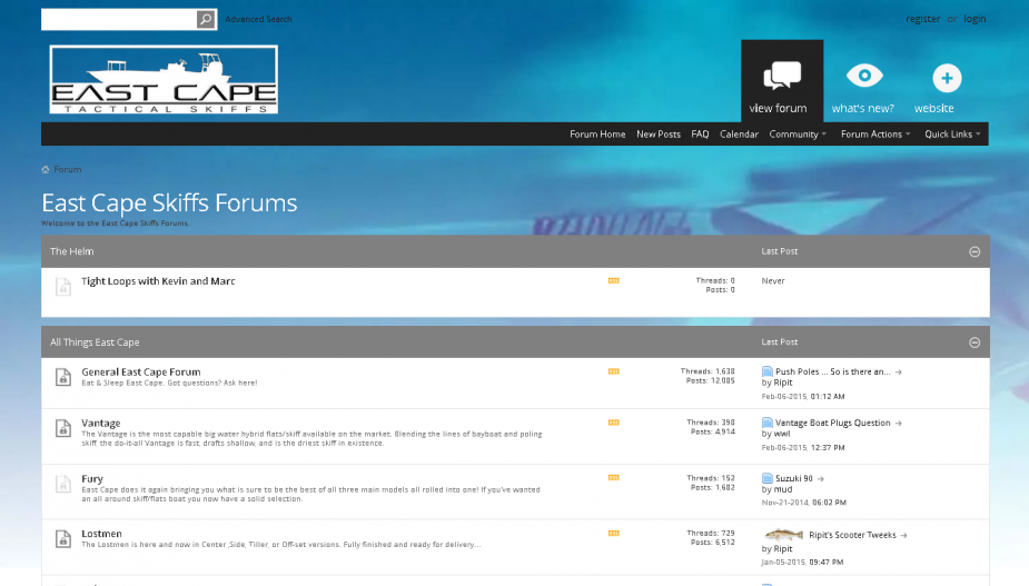 EastCape Skiffs Forums