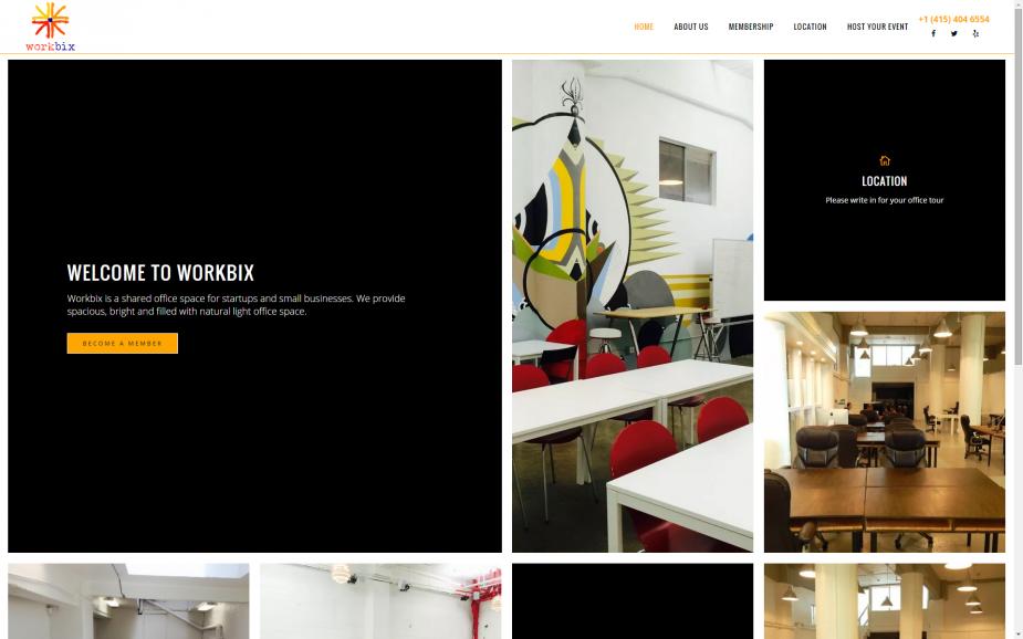 Workbix | Shared Office Space | WordPress Hosting